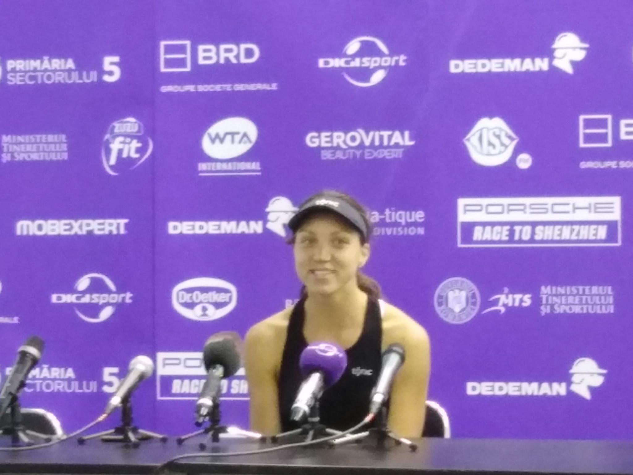 Patricia Tig este in semifinale la Bucharest Open