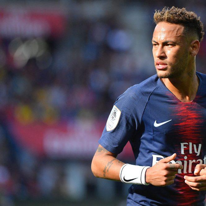 Neymar în tricoul lui PSG
